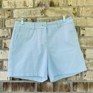 Loft by Ann Taylor light blue shorts size 8